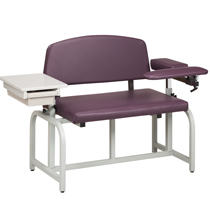 Lab X Series Bariatric Blood Drawing Chairs