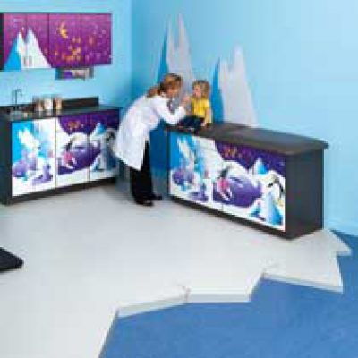 Clinton Complete Pediatric Exam Rooms
