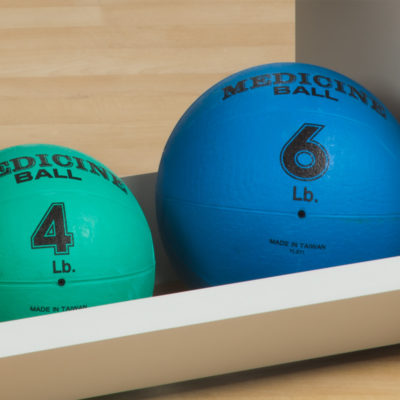 Weighted Exercise Balls
