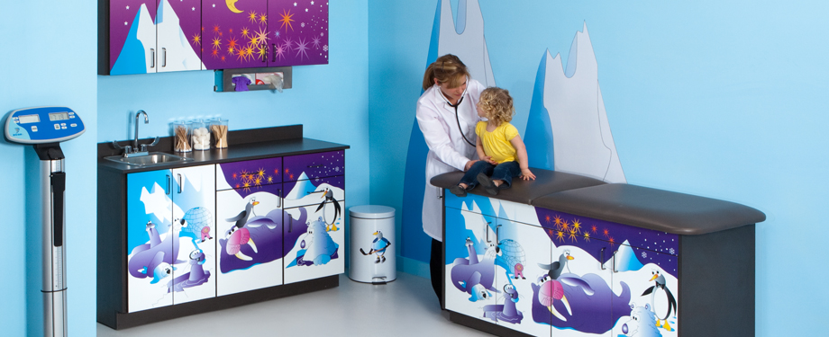 Cool Pals Treatment table & Cabinets