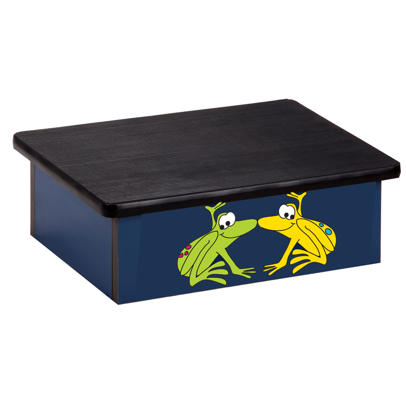Rainforest Tree Frogs Blue Laminate Step Stool Clinton