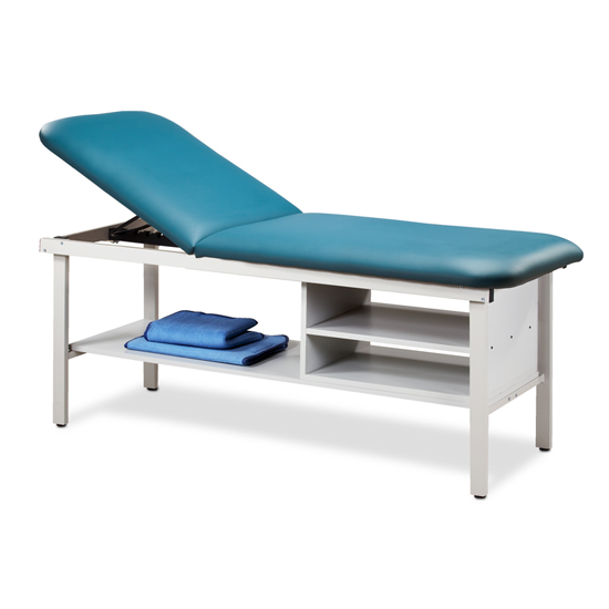 Marvelous Eco Friendly Steel Treatment Table With Shelving