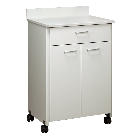 Clintonclean Mobile Treatment Cabinet With 2 Doors 1 Drawer ...