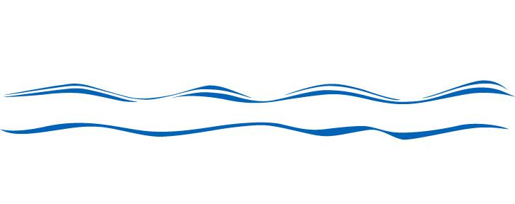 Line Art Picsart : Ocean wave wall sticker clinton complete graphics