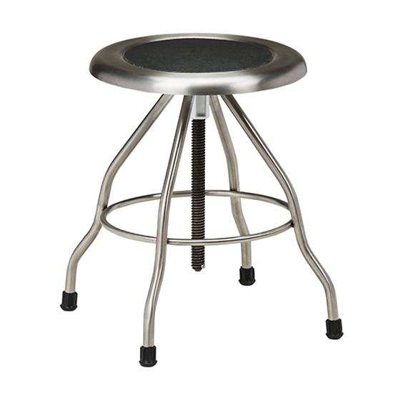 Stainless Steel Stool with Rubber Feet  sc 1 st  Clinton Industries & Stainless Steel Stool With Rubber Feet131 | Stainless Steel Stools ... islam-shia.org