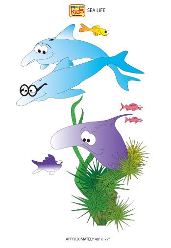 Sea Life  Sticker Copy2