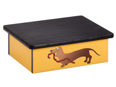Sausage Dog Laminate Step Stool Clinton Industries
