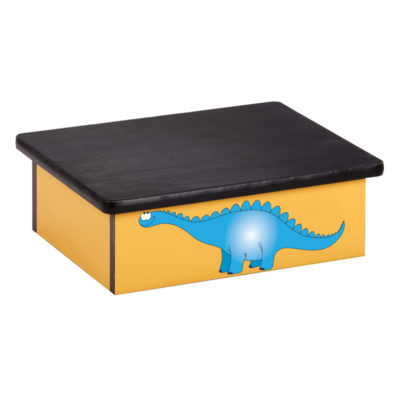 Dino Days, Yellow, Laminate Step Stool