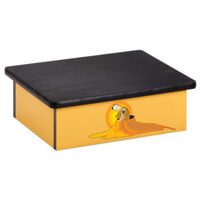 Southwestfest, Prairie Dog, Yellow, Laminate Step Stool