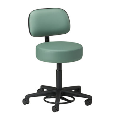 Hands-Free Stool with Backrest