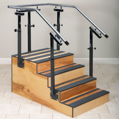 Adjustable One-Sided Staircase