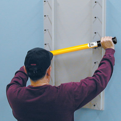 Wall Mount Ladder BarRac