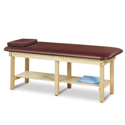 Classic Series Bariatric Treatment Table with Shelf