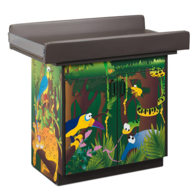 Imagination Series/Rainforest Follies Infant Blood Drawing Station with 2 Doors