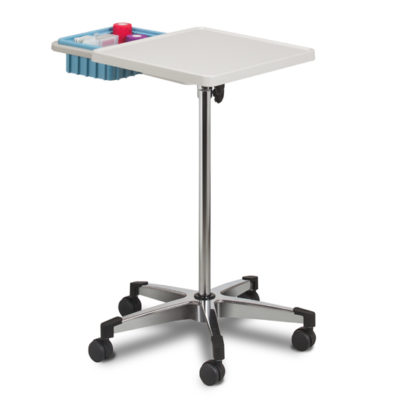 Mobile Phlebotomy Work Station with Bin