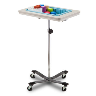 One-Bin Mobile Phlebotomy Stand