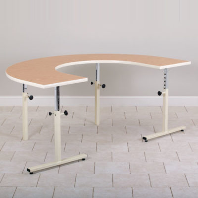 U-Shaped Table