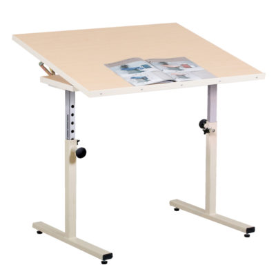 Personal Work Table with Tilt Top
