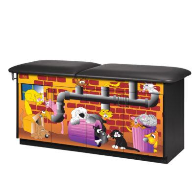 Alley Cats and Dogs Treatment Table