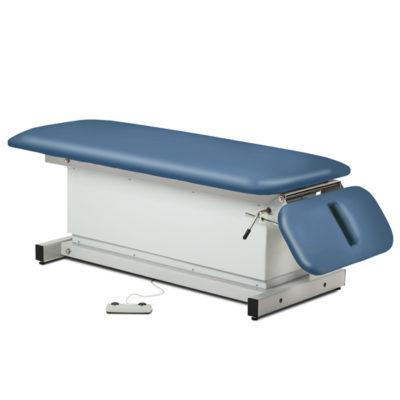 Shrouded, Space Saver, Power Table with Drop Section