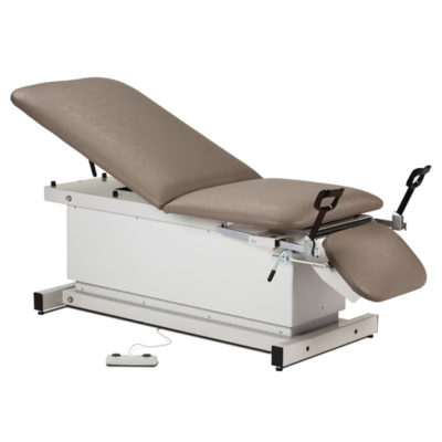 Shrouded, Power Table with Stirrups, Adjustable Backrest and Footrest