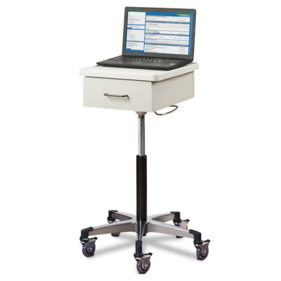 Compact, Tec-Cart™ Mobile Work Station with Drawer