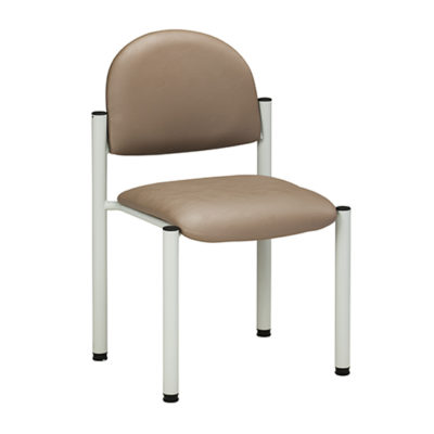 Gray Frame Chair/No Arms