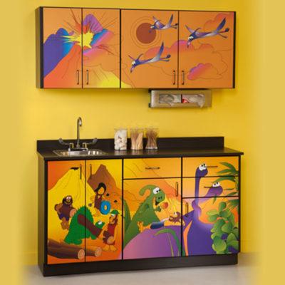 Dino Days Cabinets