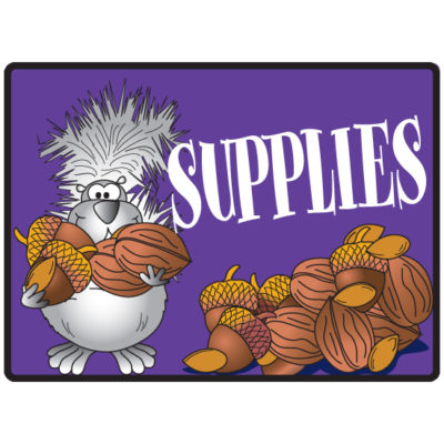 Supplies Sign