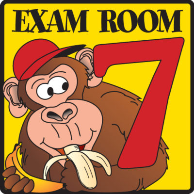 Exam Room 7 Sign
