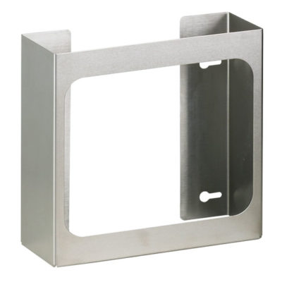 Double Stainless Steel Glove Box Holder