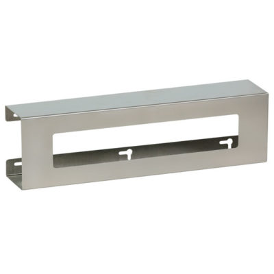 Double Slimline Stainless Steel Glove Box Holder
