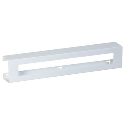 Triple Slimline White Steel Glove Box Holder
