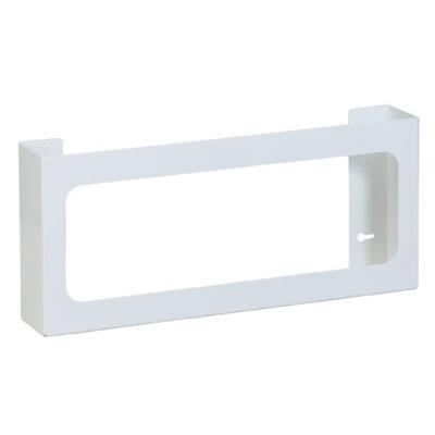 Quad White Steel Glove Box Holder