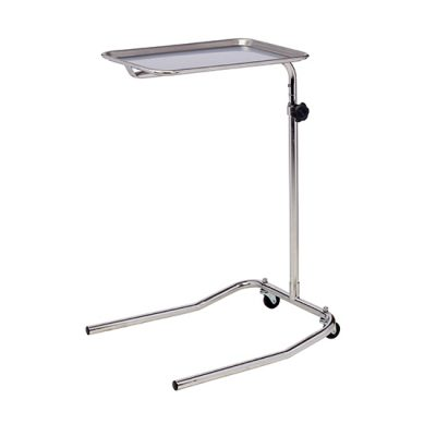 Single Post Stainless Steel* Mayo Stand