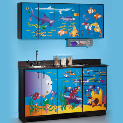 Ocean Commotion Cabinets