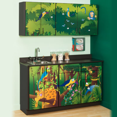 Rainforest Follies Cabinets