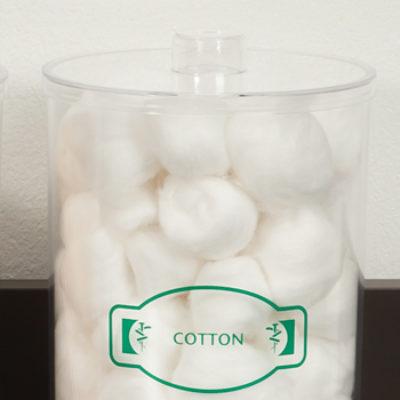 Regular Clear Jar Detail