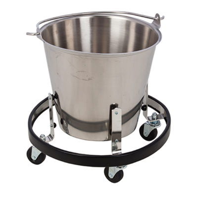 Stainless Steel Kick Bucket and Frame