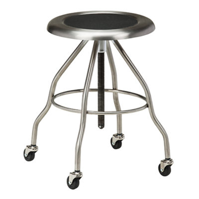 Stainless Steel Stool with Casters
