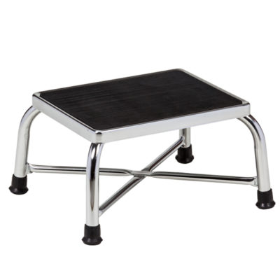 Chrome Bariatric Step Stool