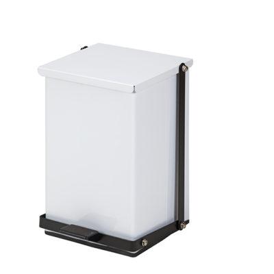 24 Quart Premium White Waste Receptacle