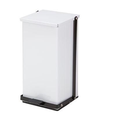 32 Quart Premium White Waste Receptacle