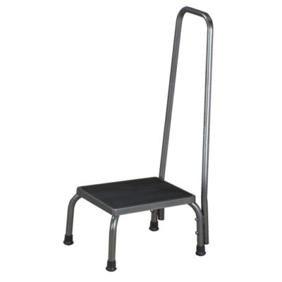 Economy Step Stool with Hand Rail