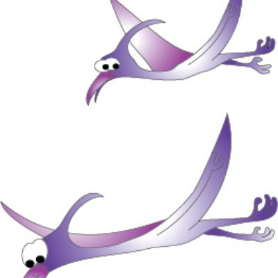 Pterodactyls Wall Sticker