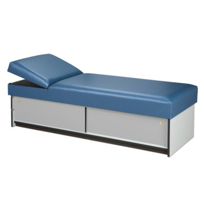 Couch with Sliding Doors